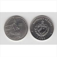 1989-MN-1 CUBA. KM 271. 1$. 1989. COPPER- NICKEL. UNC. 200 ANIV REVOLUCION FRANCESA. FRANCE REVOLUTION. - Cuba