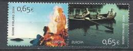 Finlande 2004 Neufs Paire N°1671/1672 Europa, Les Vacances - Finlande