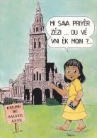 SAINT-BENOIT (La Réunion) - Eglise Sainte-Anne (Illustrateur Francis) - Saint Benoît