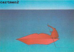 ILLUSTRATEUR FOLON LILY AIME MOI SERIGRAPHIE 1975 - Folon