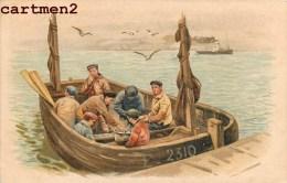ILLUSTRATEUR HOLLANDAIS PECHEUR NEERLANDAIS PECHE FISH VOLENDAM HOLLAND NEDERLAND ILLUSTRATOR - Zonder Classificatie