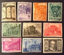 Vatican MH* 1949 Mi 149/158, Yv 140/149 - Neufs