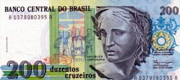 NEUF : BILLET DE 200 CRUZEIROS - BRESIL - 1990/1993 - Brazil