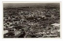 South Australia (SA), Adelaide, University, River Torrens, CBD, Aerial View, Photo Postcard - Adelaide