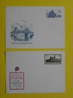 ALLEMAGNE - RDA / LOT DE 10 ENTIERS POSTAUX PRIVES ILLUSTRES  / 5 IMAGES (ref 586) - Briefmarken