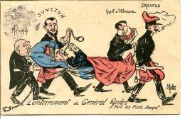 Illustration MULLER - Un épisode De L'Affaire Dreyfus : La Mort (politique) Du Général ANDRÉ - Sátiras