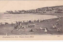 WESTON SUPER MARE -KNIGHTSTONE FROM PIER - Weston-Super-Mare