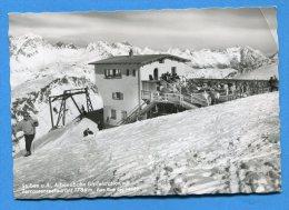 Mans1205, Stuben Am Arlberg, Albona Bahn,Gipfelstation, Restaurant, Animée ,GF,circulée 1966 - Stuben