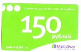 Russia  Russie   , Phonecards   , Megafon , Telecom Operators , Used - Telecom Operators