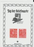 III-AP017/ Schmuckblatt Zum Tag Der Briefmarke (Replica/Sonderdruck) - Deutschland