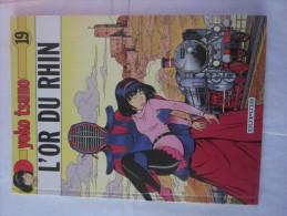 YOKO TSUNO N° 19 L' OR DU RHIN  Par  ROGER  LELOUP En édition Originale - Yoko Tsuno