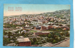 PALESTINE-NAZARETH- Vue D'ensemble-a Voyagé En 1916-édition Terzis - Palestine