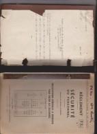 LIVRE REGLEMENT SECURITE DU PERSONNEL CHEMIN DE FER , SNCF En 1965!! - Chemin De Fer & Tramway