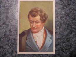 ROBERT FULTON  Chromo N° 61 Personnage Célébre Soie à Coudre GUTERMANN Gütermann Chromos Vignette Trading Card - Non Classés