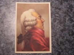 CLAUDE BERTHOLLET  Chromo N° 73 Personnage Célébre Soie à Coudre GUTERMANN Gütermann Chromos Vignette Trading Card - Non Classés