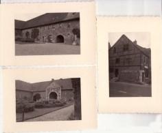 AUBEL & VAL DIEU 1934 Réunion De 3 Photographies - Places