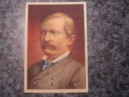 HENRI MORTON STANLEY   Chromo N° 82 Personnage Célébre Soie à Coudre GUTERMANN Gütermann Chromos Vignette Trading Card - Non Classés