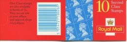 Machin 2nd Class:  - DB16(22) - Booklets