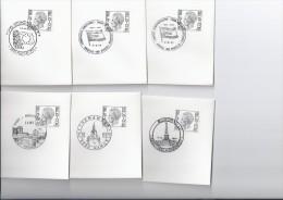 Afstempeling : Europa - Poststempels/ Marcofilie