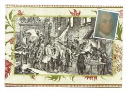 CPM - Nancy (54) - Portrait De Jean Lamour Serrurier De Stanislas - Visite Du Roi De Pologne Fabrication Grilles - Nancy