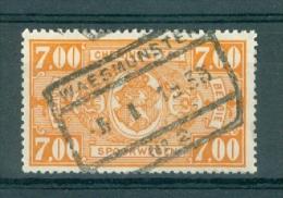 """BELGIE - OBP Nr TR 159 - Cachet """"WAESMUNSTER Nr 2"""" - (ref. VL-4511) - Chemins De Fer"""