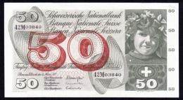 Switzerland 50 Francs 1973 P.48m UNC- - Switzerland