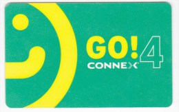 Romania ,  Prepaid Phonecard -  Connex Go 4 , Plastic , Used - Romania