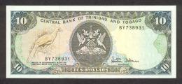 Trinidad And Tobago 10 Dollars 1985 Pick 38d UNC - Trinidad & Tobago
