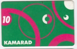 Romania ,  Prepaid Phonecard -  Connex , Camarad , 10$ , Plastic , Used - Romania