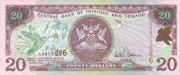 Trinidad And Tobago 20 Dollars 2002 Pick 44 UNC - Trinidad & Tobago