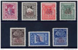 """1931 """"CONGRESSO EUCARISTICO"""" GOMMA INTEGRA** ECCEZIONALI E. DIENA - MNH LUXUS - POSTFRISCH - Egeo"""