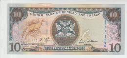 Trinidad And Tobago 10 Dollars 2006 Pick 48 UNC - Trinidad & Tobago