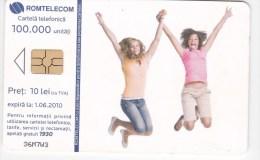 Romania ,  Phonecard  , 2010 , Romtelecom , Used - Romania