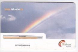 Romania ,  Phonecard  , 2002 , Space , Arttelecom , Used - Romania