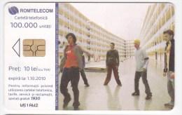 Romania ,  Phonecard  , 2010 , ClickNet , Romtelecom , Used - Romania