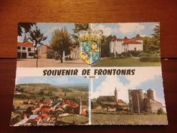 Souvenir De Frontonas Cpm - France