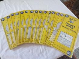 Cartes Michelin Anciennes Années 50 - Cartes Routières