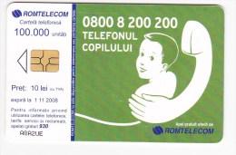 Romania ,  Phonecard  , 2008 ,  Used - Romania