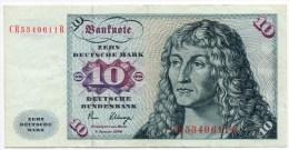 Germania Federale DDR 10 Marchi 1980 BB - [ 6] 1949-1990 : GDR - German Dem. Rep.