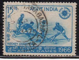 India Used 1966, Hockey Victory In Asian Games, Sport, (Sample Image) - India