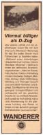 Original Werbung - 1929 - WANDERER , Werk In Schönau B. Chemnitz , Motorrad , Motorräder !!! - Motorräder
