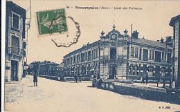 BEAUREPAIRE               QUAI DES TERREAUX - Beaurepaire
