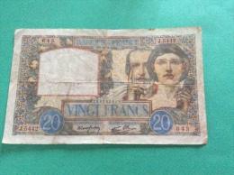FRANCE - 20 FRANCS 28.8.1941 - 20 F 1939-1942 ''Science Et Travail''