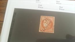 LOT 243746 TIMBRE DE  FRANCE OBLITERE N�48 VALEUR 130 EUROS
