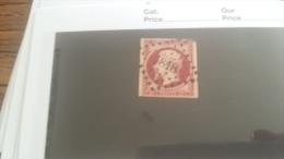 LOT 243749 TIMBRE DE  FRANCE OBLITERE N�17A VALEUR 65 EUROS