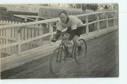 SEIGNEUR , Sprinter Français. 2 Scans. Les Sports, Malcuit CM - Cycling
