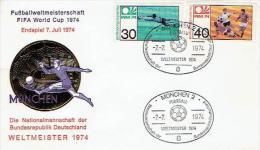 Germany - Sonderstempel / Special Cancelation (D715) - Coppa Del Mondo