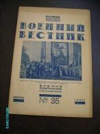 1923 RUSSIA MILITARY JOURNAL VOENNYI VESTNIK , AVANT GARDE ILLUSTRATIONS , PHOTOS , 0 - Other
