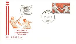 FENCING FECHTEN SCHERMA ESCRIME 击剑 フェンシング 펜싱 1974 - Fencing