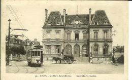 CPA CAEN La Gare Saint-Martin 11394 - Caen